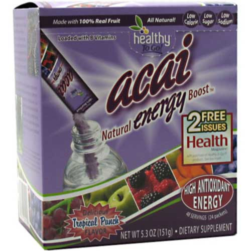 Acai Natural Energy Boost 24 ct
