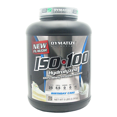 Iso 100 Birthday Cake 5 Lbs By Dymatize
